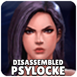 Psylocke Disassembled Character Icon Marvel Future Fight