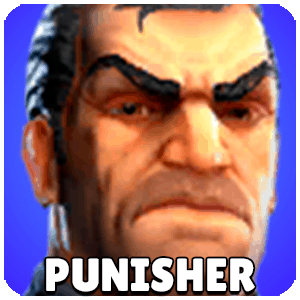 Punisher Character Icon Marvel Strike Force