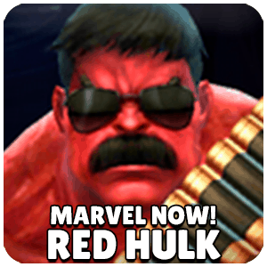 Red Hulk Marvel NOW! Character Icon Marvel Future Fight