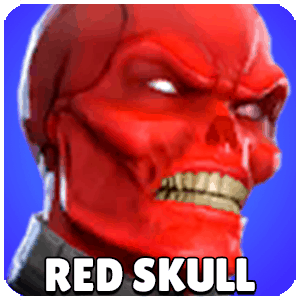 Red Skull Character Icon Marvel Strike Force