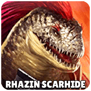 Rhazin Scarhide Champion Icon Raid Shadow Legends