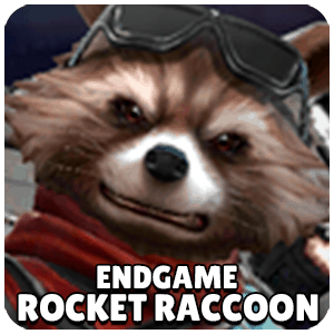 Rocket Raccoon Endgame Character Icon Marvel Future Fight