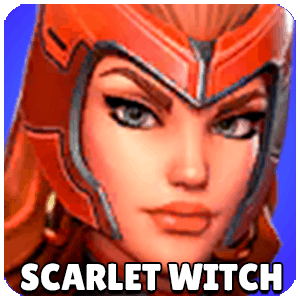 Scarlet Witch Character Icon Marvel Strike Force