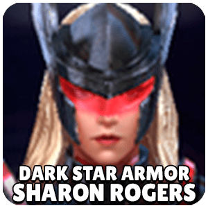 Sharon Rogers Dark Star Armor Character Icon Marvel Future Fight