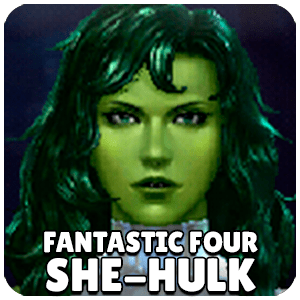 She-Hulk Fantastic Four Character Icon Marvel Future Fight