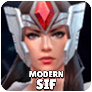 Sif Modern Character Icon Marvel Future Fight