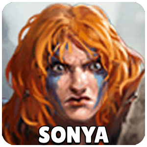 Sonya Hero Icon Heroes Of The Storm