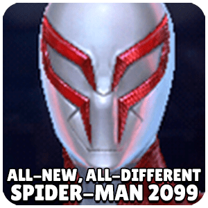 Spider Man 2099 All-New All-Different Character Icon Marvel Future Fight