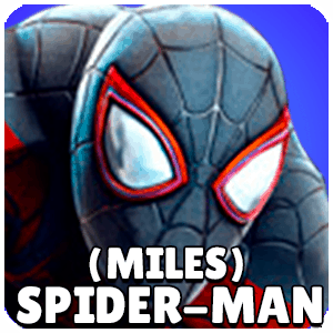 Spider Man Miles Character Icon Marvel Strike Force