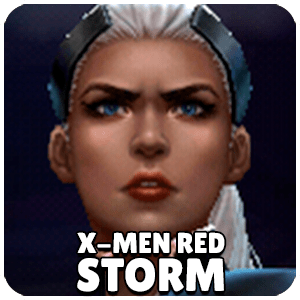 Storm X-Men Red Character Icon Marvel Future Fight