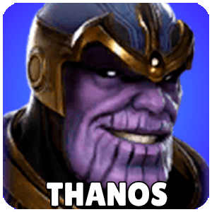 Thanos Character Icon Marvel Strike Force