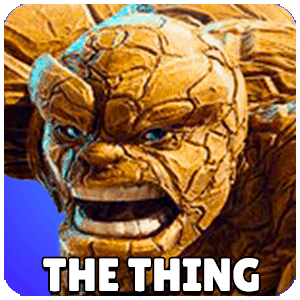 The Thing Character Icon Marvel Strike Force