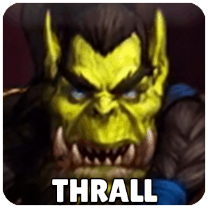 Thrall Hero Icon Heroes Of The Storm