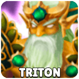 Triton Character Monster Icon Summoners War