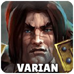 Varian Hero Icon Heroes Of The Storm