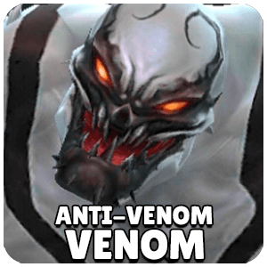 Venom Anti-Venom Character Icon Marvel Future Fight