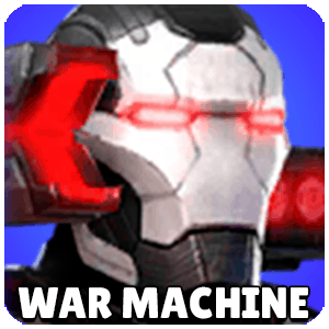 War Machine Character Icon Marvel Strike Force