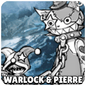 Warlock and Pierre Character Icon Battle Cats