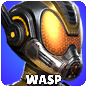 Wasp Character Icon Marvel Strike Force