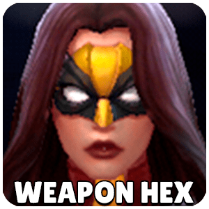 Weapon Hex Character Icon Marvel Future Fight