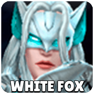 White Fox Character Icon Marvel Future Fight