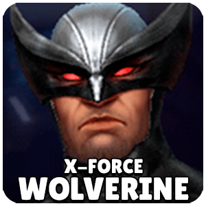 Wolverine X-Force Character Icon Marvel Future Fight